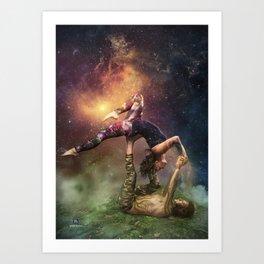 Cosmic Unity Art Print