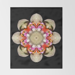Orchidstration Throw Blanket
