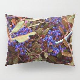 Alien landscape autumn berry surreal plants Pillow Sham