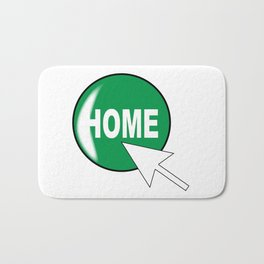 Computer Icon Home Bath Mat