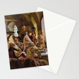 12,000pixel-500dpi - A Boyar Wedding Feast - Konstantin Makovsky Stationery Cards