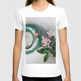 Tea and Blossoms T-shirt