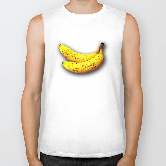 brown bananas Biker Tank