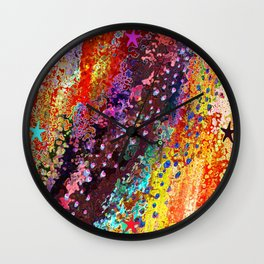 River Of Joy Wall Clock