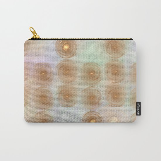 Abstract data crunching Carry-All Pouch