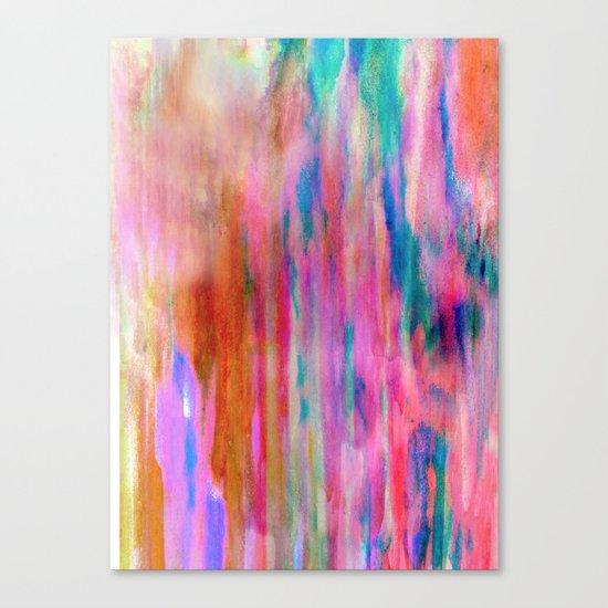Sherbet Shower Canvas Print