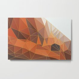 Autumn abstract landscape 5 Metal Print