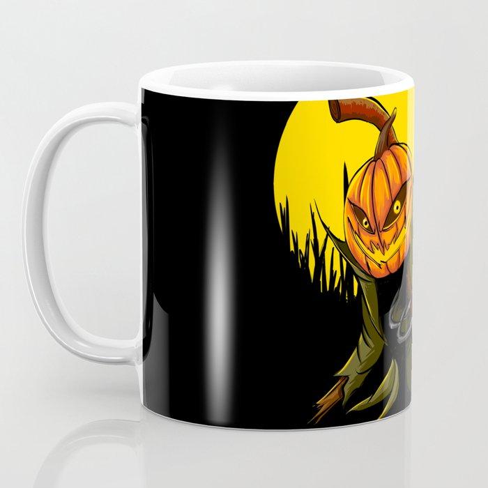 Pumpkin scarecrow Coffee Mug