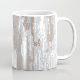 Grey brown Colors Gradient pattern.  light-grey, modern, decor, Society6 Coffee Mug
