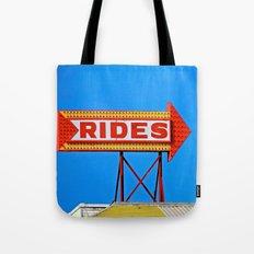 Let's Ride Tote Bag