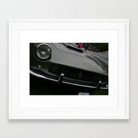 ferrari Framed Art Prints featuring Ferrari by Bionic Phil