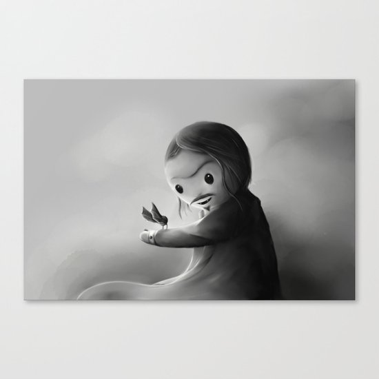 With fangs and love Canvas Print