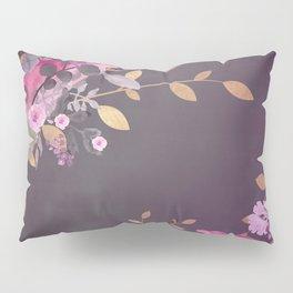 FLOWERS & GOLD  Pillow Sham