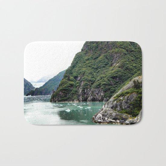 Views through a Fjord Bath Mat