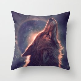 Dust Clears Throw Pillow