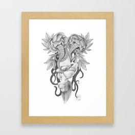 """""""GORGONE BOUND"""" by Mayla Tylluan Framed Art Print"""
