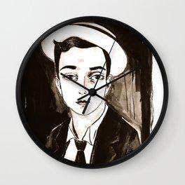 Buster Keaton per un'amica Wall Clock