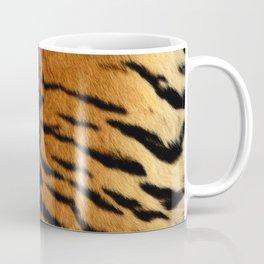 Faux Siberian Tiger Skin Design Coffee Mug