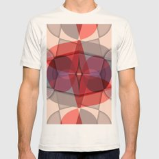 Go Outside SMALL Mens Fitted Tee Natural
