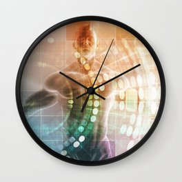 Biomedical Sciences and Medical Technology for Man Wall Clock