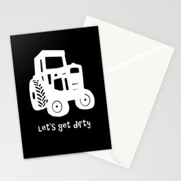 Let's Get Dirty Stationery Cards