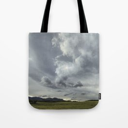 Landscape Photography | Waterton, Alberta | Clouds | Sunset Tote Bag