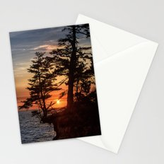 Sunset through the Trees Stationery Cards