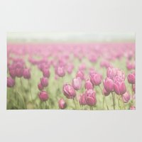 tulip Area & Throw Rugs featuring Tulip by Pure Nature Photos