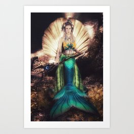 Golden Hoard Art Print