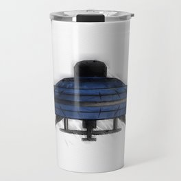 Retro UFO Travel Mug