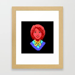 Meet Nancy Maple - The Crimson Diamond Framed Art Print