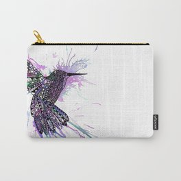 Humming Bird Colour Splash Carry-All Pouch