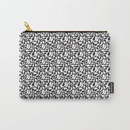 Black Lava Doodle Pattern (S186C) Carry-All Pouch