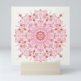 Moroccan Mandala – Valentine Palette Mini Art Print