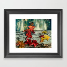 Signs of Autumn Framed Art Print