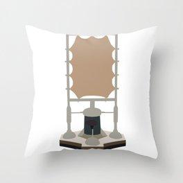 Lady Cassandra O'Brien.Δ17 Throw Pillow
