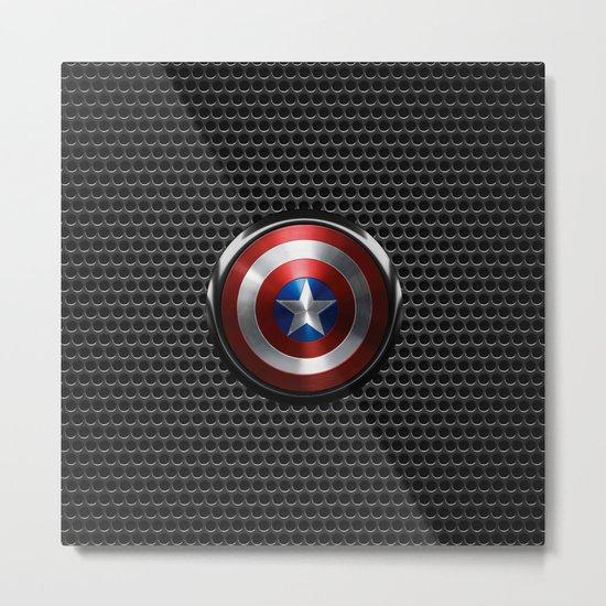 Captain Roger Shield Metal Print