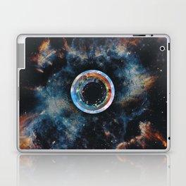 Hawking radiation (tribute to Stephen Hawking) Laptop & iPad Skin