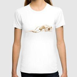 Laying T-shirt