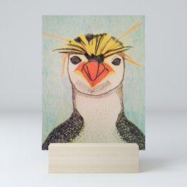 Rock Hopper Penguin Mini Art Print