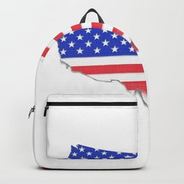 USA map Backpack