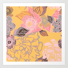 Jungle Blossoms Art Print