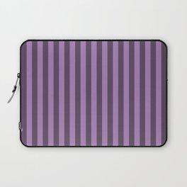 Lavender Purple Stripes Pattern Laptop Sleeve