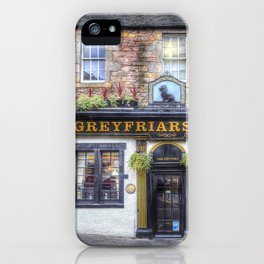 Greyfriars Bobby Pub edinburgh iPhone Case