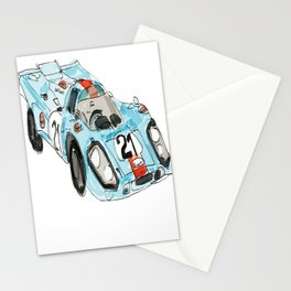 Famous Race Car Stationery Cards