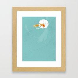 Bloop Framed Art Print