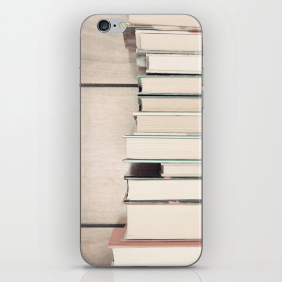 The Book Collection iPhone & iPod Skin