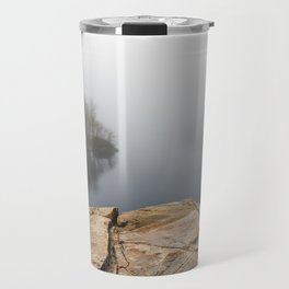 Foggy reflections Travel Mug