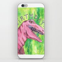 birthday iPhone & iPod Skins featuring Birthday by us and we [art]