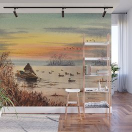 A Great Day For Hunting Ducks Wall Mural